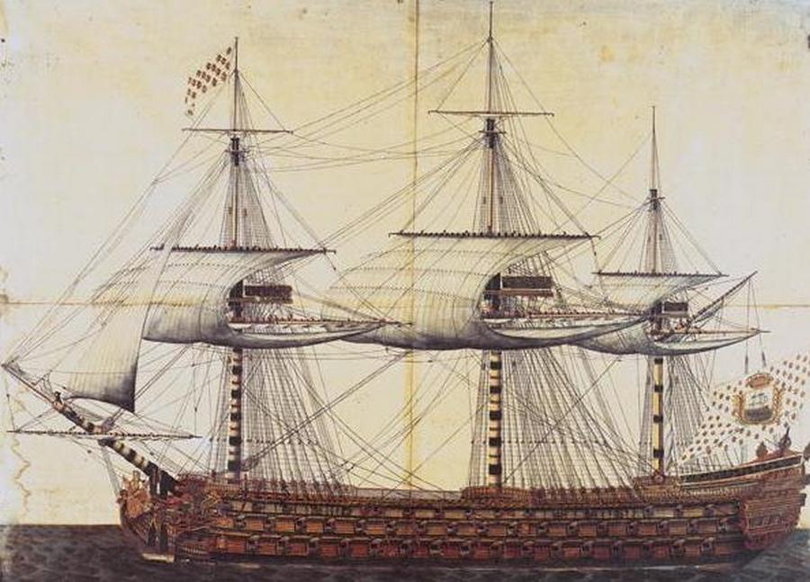Les vaisseaux trois ponts fran ais du xviiie si cle for Piscine 18eme paris