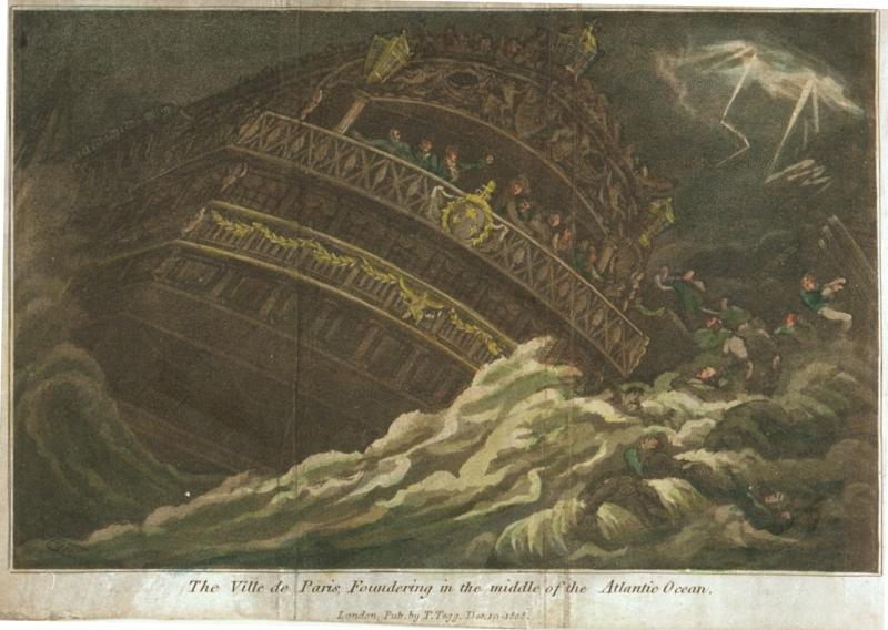 Naufrage de la Ville de Paris. Par Thomas Tegg (1808).