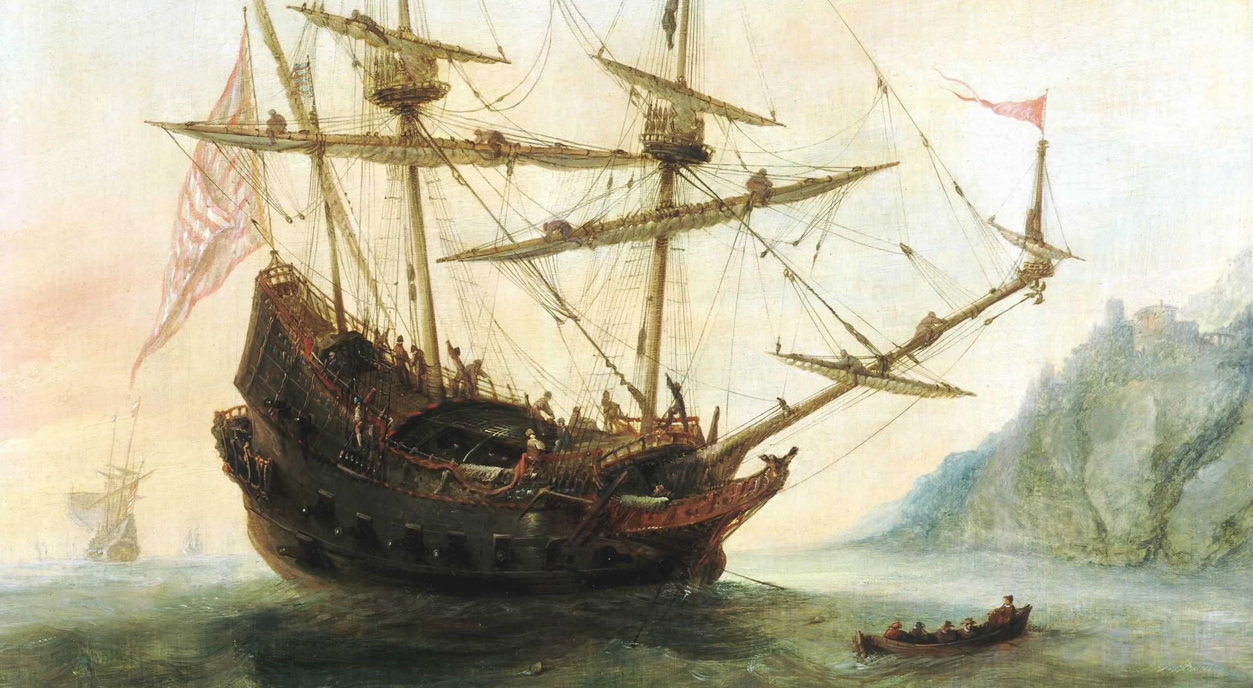 Andries van eertvelt l pante et les navires du 16e si cle - Combien de litre de peinture par m2 ...