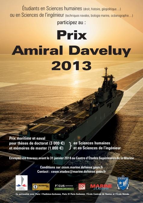 Affiche Prix Daveluy 2013