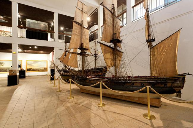 Musée de la marine de Toulon intérieur