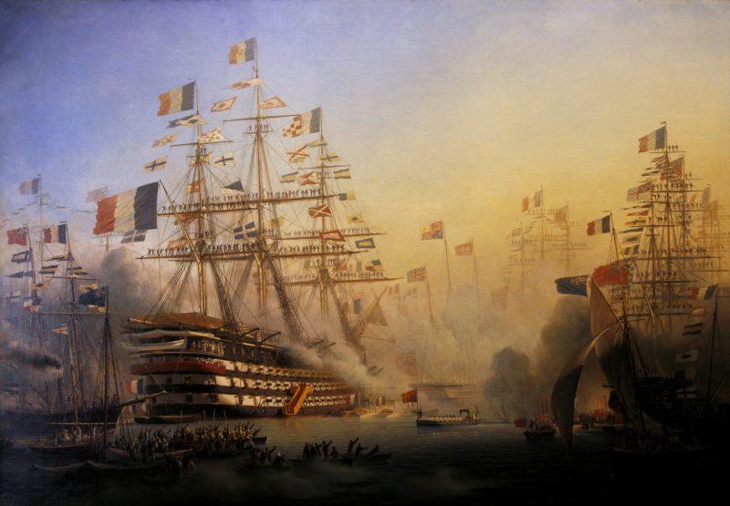 Visite de Napoléon III et Victoria à Cherbourg
