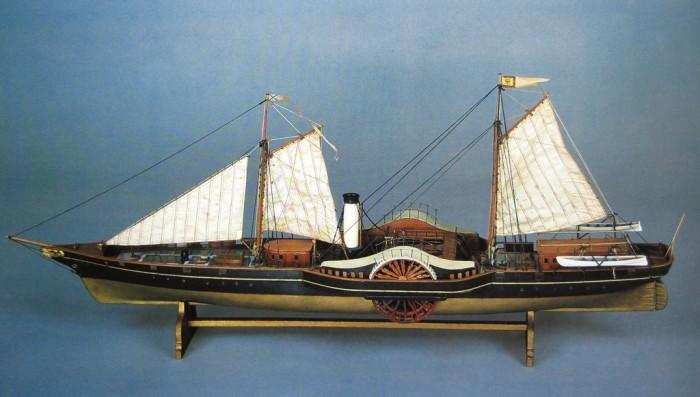Modèle du Standart. Musée central de la Marine de Guerre de Saint-Pétersbourg.