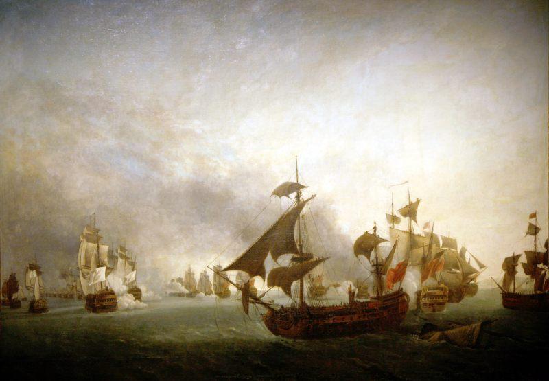 Bataille de la Grenade, par Jean-François Hue
