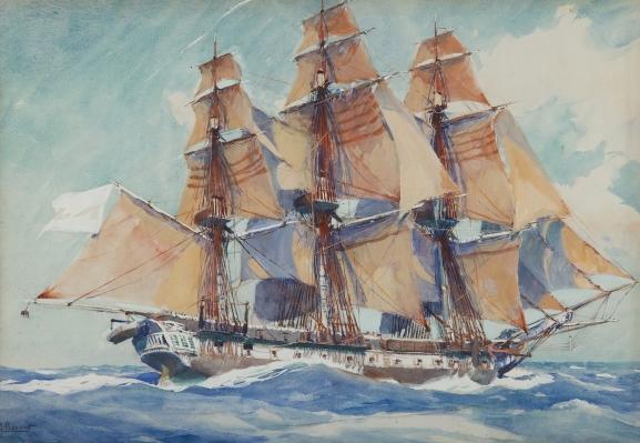 Les pavillons de la marine sous l'Ancien Régime | Trois-Ponts!